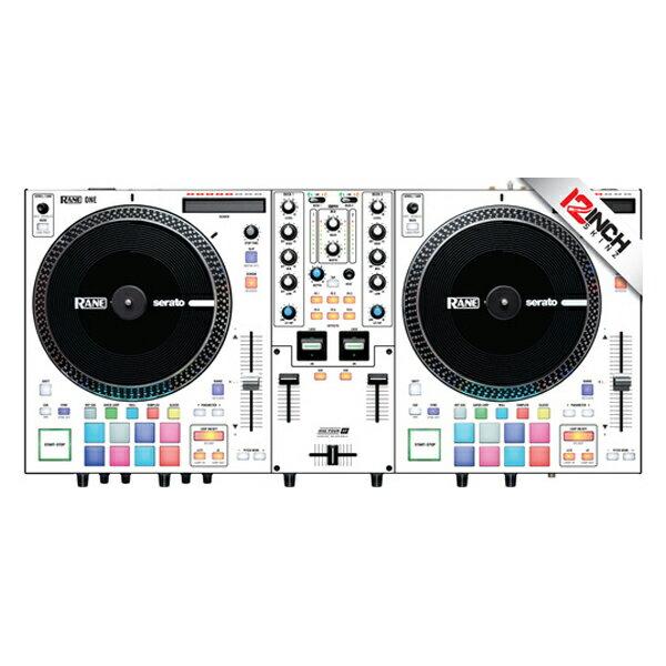 DJ機器, その他 12inch SKINZ Rane One Skinz (Colors WHTWHT)