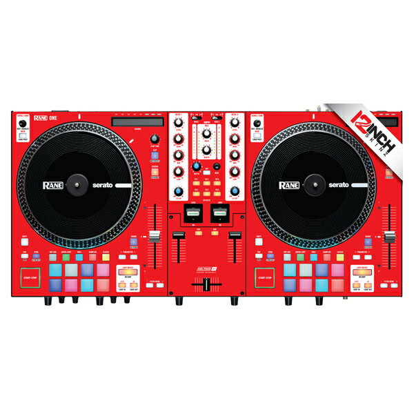 DJ機器, その他 12inch SKINZ Rane One Skinz (Colors RED)