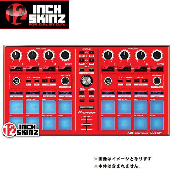 DJ機器, その他 12inch SKINZ Pioneer DDJ-SP1 SKINZ (Red) DDJ-SP1