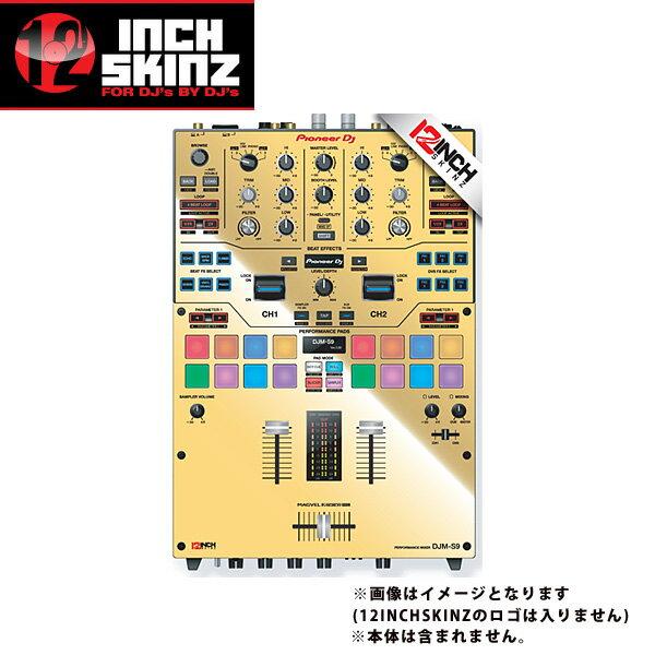 DJ機器, その他 12inch SKINZ Pioneer DJM-S9 SKINZ Metallics (MIRROR GOLD) - DJM-S9