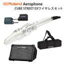 【CUBE STREET EXワイヤレスセット】 Roland(ローランド) / Aerophone (AE-10) ホワイト - エアロフォン / ウィンド・シンセサイザ ー