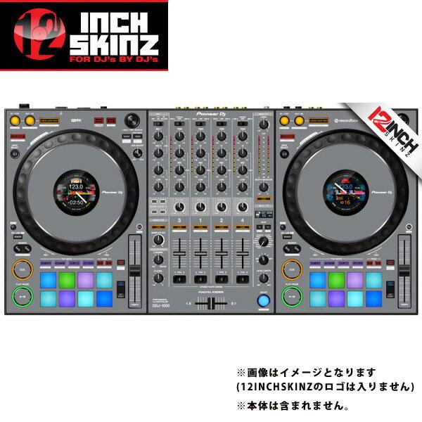 DJ機器, その他 12inch SKINZ Pioneer DDJ-1000 SKINZ(Gray) DDJ-1000