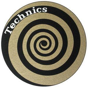 DJ機器, その他 Technics Slipmats (Spiral Gold) (21)