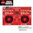 12inch SKINZ / DENON MC-3000 SKINZ (RED/BLACK) 【MC-3000用スキン】