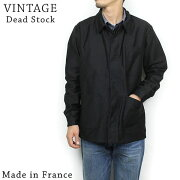 DeadStockデッドストックFrenchフレンチモールスキンワークジャケット[BLACK]メンズヴィンテージフランスビンテージ黒送料無料楽天通販【RCP】