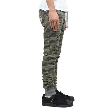 SWEET PANTS スイートパンツ Slim Pants メンズ スウェットパンツ CAMO カモ 迷彩 スリムパンツ テーパード スエット フランス フレンチテリー レディース 聖林公司 HRM 送料無料 楽天 通販 【RCP】