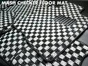 MASH チェッカーフロアマットトヨタ アレックス E12系