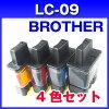 ブラザーLC094色セットプリンターインク【増量タイプ】インクカートリッジ互換インクインクLC09-4PK4色パック互換インクカートリッジbrother