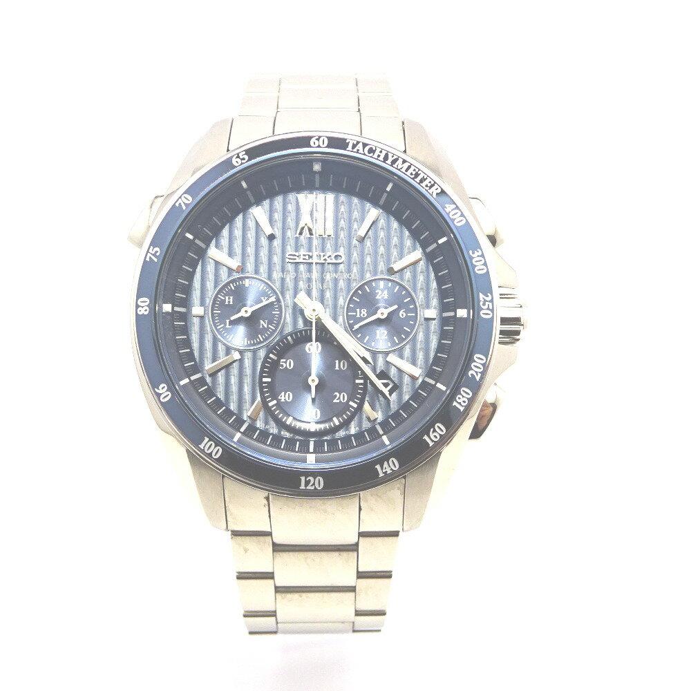 セイコー 腕時計 ブライツ SAGA151 ブルー系文字盤