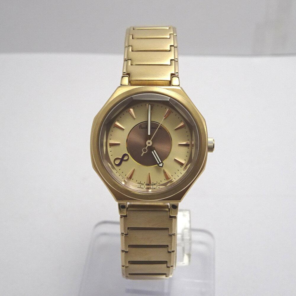 ポールスミス 腕時計 オクタングル BB9-121-31 1036-S084351 ゴールド系文字盤