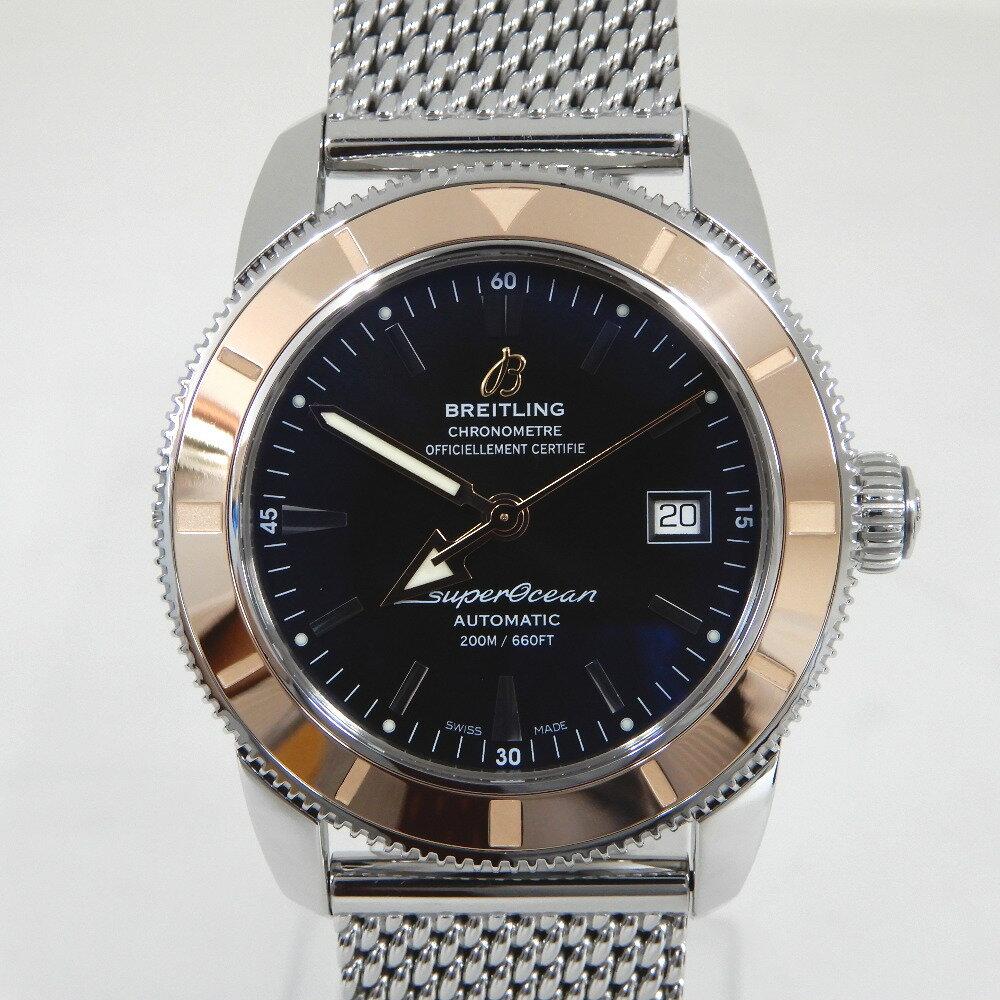 ブライトリング 腕時計 スーパーオーシャン ヘリテージ42 U17321 ブラック ブラック文字盤 磨き済み