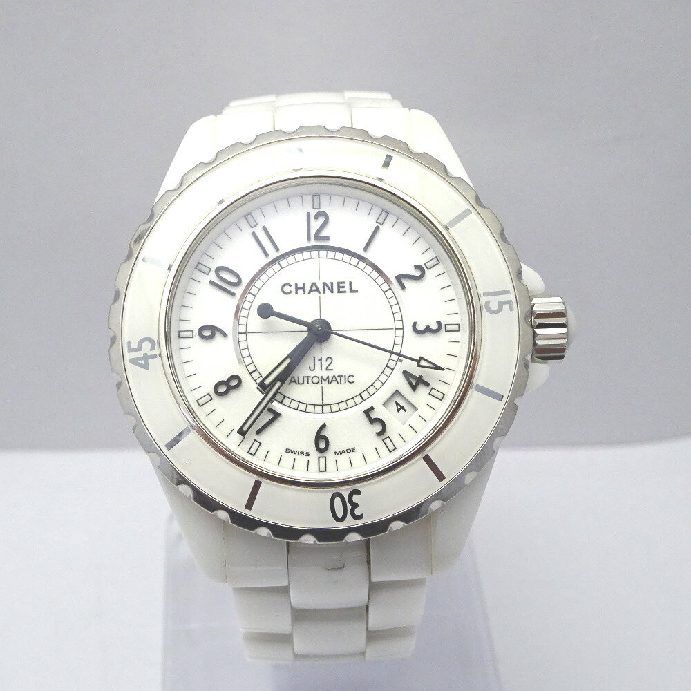 シャネル 腕時計 J12 ホワイト