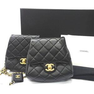 Sac à bandoulière Chanel Matrasse Twin Pack 19SS Chain Shoulder Gold Metal Fitting AS0614 [Boutique Minami-Futamase de qualité] [Prêteur sur gages] CHANEL [Occasion] Ft538971