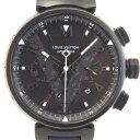 ルイ・ヴィトン 腕時計 クロノグラフ タンブール ラバーベル...