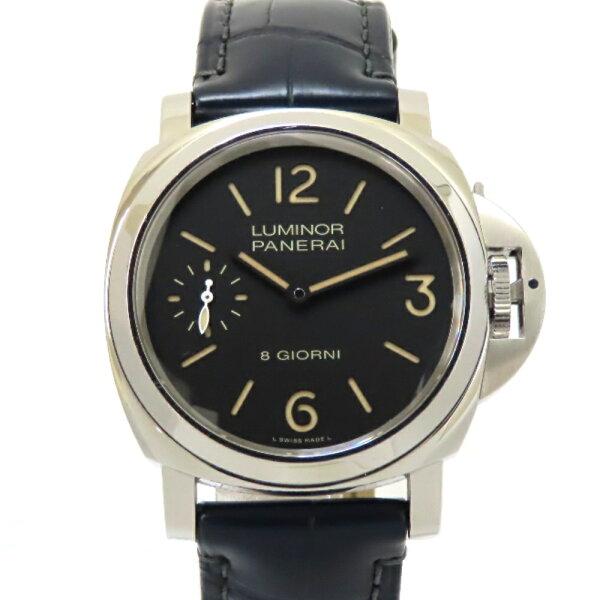 パネライ腕時計ルミノールベース8デイズPAM00915手巻き44mm純正革ベルト×2純正ラバーベルト×1 質みなみ・荒江店  質