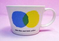 《在庫限り》レオ・レオニの食器◆小さめマグカップ『あおくんときいろちゃん』