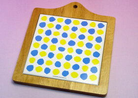 《在庫限り》レオ・レオニの食器◆アートボード『自分だけの色』(鍋敷き・カッティングボード)