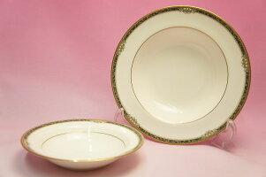 ノリタケ#4497ストリームサイド21cmスープ皿
