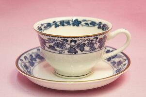 #879ぶどうティー・コーヒー碗皿