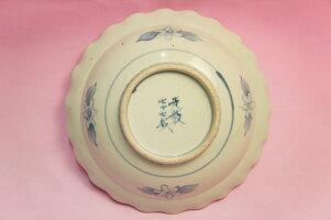 五代佐藤走波染錦中国少数民族絲綢鉢