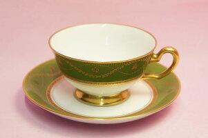 大倉陶園ナポレオンティー・コーヒー碗皿