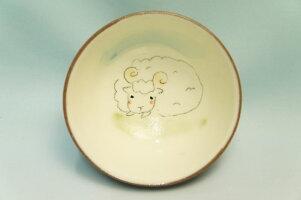 干支・未(ひつじ)飯碗【信楽焼の干支茶碗】