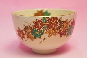 紅葉抹茶碗
