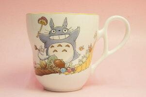 となりのトトロマグカップ(収穫)◆ノリタケボーンチャイナ・TT97855/4924-3
