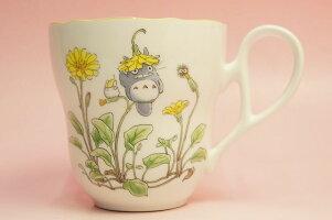 となりのトトロマグカップ(花帽子)◆ノリタケボーンチャイナ・TT97855/4924-7