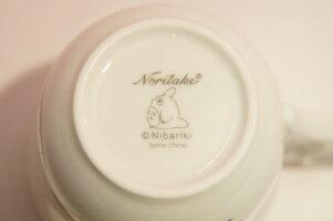 となりのトトロマグカップ(花帽子)◆ノリタケボーンチャイナ