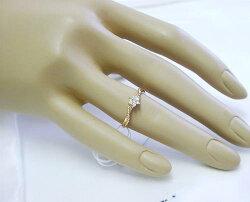 0.1ctダイヤモンドK18ピンクゴールドダイヤモンドリング【_包装】【smtb-TD】【saitama】