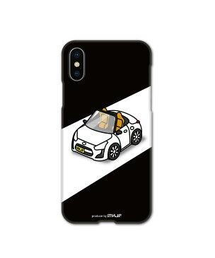 MKJP カスタムiPhoneケース ダイハツ コペン LA400K