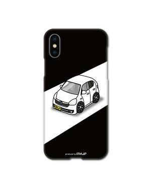 MKJP カスタムiPhoneケース ダイハツ ミライース LA300S