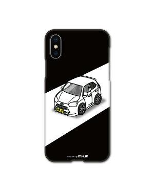 MKJP カスタムiPhoneケース ダイハツ ミライース LA360S