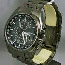 ソーラー電波時計メンズ腕時計シチズンアテッサクロノグラフCITIZENATTESAAT8044-56E名入れ刻印対応《有料》取り寄せ品