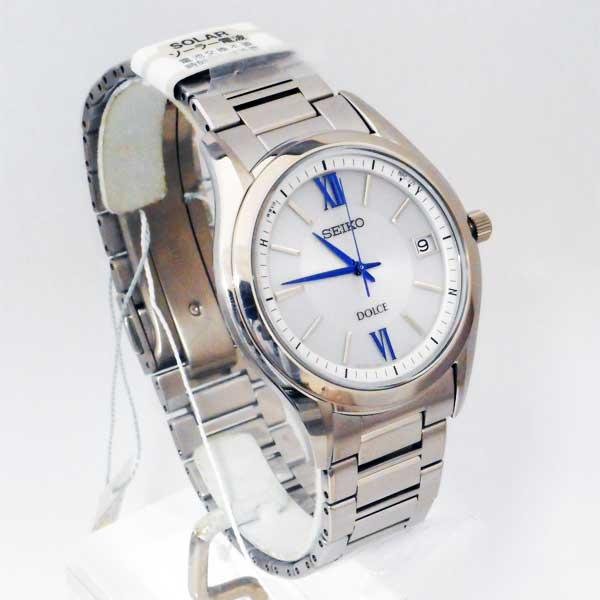 セイコー ソーラー電波時計 SADZ185 ドルチェ SEIKO DOLCE 男性用 腕時計 メンズウオッチ 刻印対応、有料 取り寄せ品