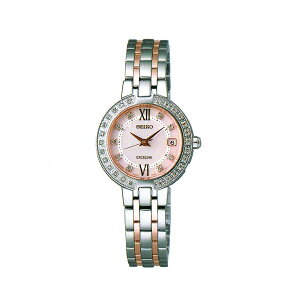 Seiko EXCERINE SWCW085 radio wave solar watch ladies SEIKO EXCELINE engraving support, paid back order