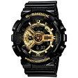 カシオ Gショック GA-110GB-1AJF ブラック×ゴールド CASIO G-SHOCK メンズ腕時計 アナデジ 国内正規品 刻印対応、有料 取り寄せ品 【コンビニ受取対応商品】
