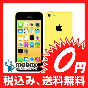 エーユー iPhone5c 32GB yellow アイフォーン5c 新品未使用 Apple 送料無料※ネットワーク利用...