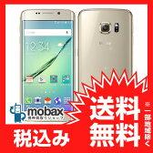 ◆お買得◆※〇判定 【新品未使用】au Galaxy S6 edge SCV31 64GB [ゴールドプラチナ]白ロム