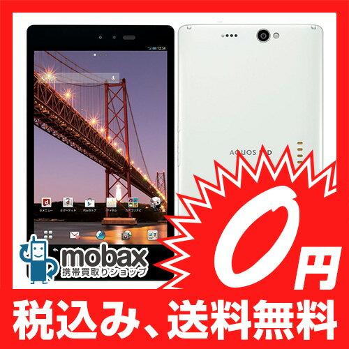 ◆お買得◆※〇判定docomo AQUOS PAD SH-08E ホワイト☆白ロム☆タブレット