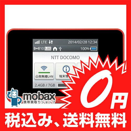 ◆お買得◆※〇判定 docomo HUAWEI Wi-Fi STATION HW-01F [オレンジ] ☆白ロム