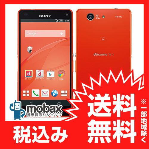 ◆お買得◆※〇判定 docomo Xperia Z3 Compact SO-02G [オレンジ]白ロム☆