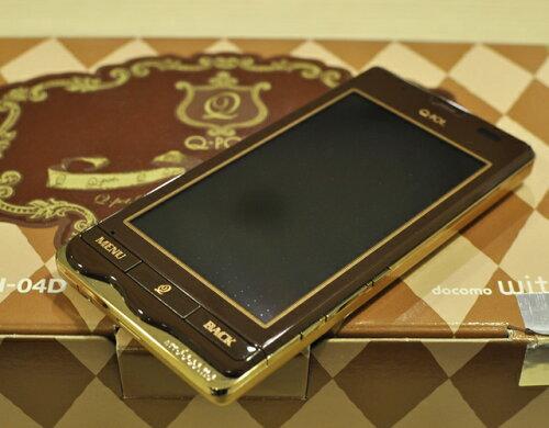 ◆お買得◆※〇判定★新品未使用★docomo with series Q-pot.Phone SH-04D