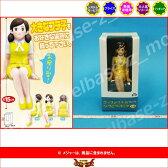 コップのフチに舞い降りた天使コップのフチ子 ソフビフィギュアフレッシュ 制服:黄システムサービス OL人形プライズ