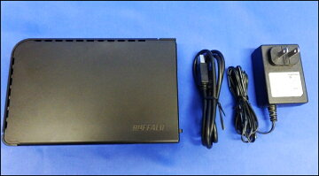 USB3.0対応外付けHDD2TBBUFFALOHD-LB2.0TU3-BKC