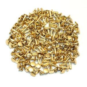 両面小カシメ頭6mm100組セット