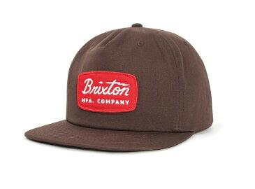 Brixton Jolt HP Snapback Brown ブリクストン ジョルト HP スナップバック キャップ ブラウン 帽子 ベーボールキャップ