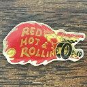Motor-Musicで買える「スナップオン レッドホット&ローリング ピンバッジ Snap-on RED HOT & ROLLIN' Pin」の画像です。価格は2,000円になります。