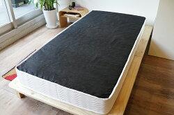ポケットコイルマットレスセミダブルマットレスマット真空圧縮コンパクト梱包ベッド寝具